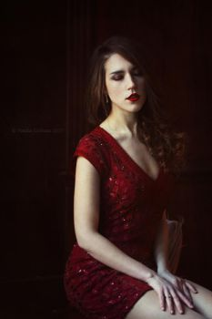 Julia in red 4 by NataliaCiobanu
