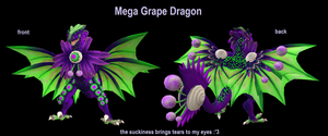 Spore-Mega Grape Dragon by PukingRainbow
