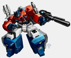 Super Ginrai (Powermaster Optimus for the noobs) by MinohKim