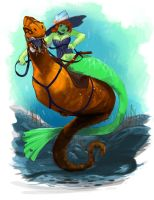 Mermaid Rodeo by PhiLaBuster