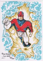 Captain Britain Colors by guillomcool
