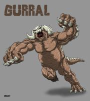 Kaiju Commission - Gurral the Smasher by Bracey100