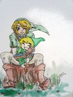 Link with Link by Pachaluche
