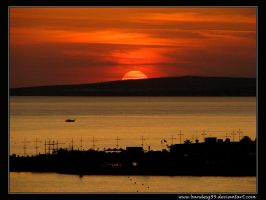 Harbour Sunset by bandesz99