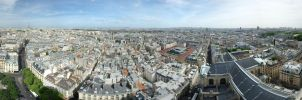 Tour Saint Sulpice Panorama by partoftime