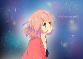 Inspired by Kyoukai no Kanata by MaddyLineArt