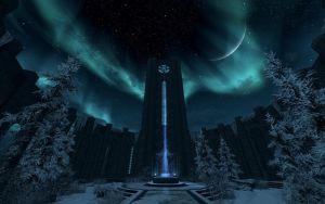 The College of Winterhold by TheSpiritOfTheWoods
