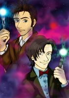 The two Doctors by Kaynime