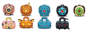 pokemon bags by chasz-manequin