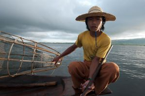 Portrait of a fisherman by SantiBilly