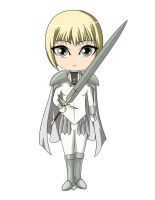 Clare Chibi by Rin-Claymore