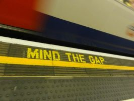 Mind the Gap by Belly-Button-Monster