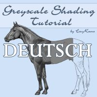 Greyscale Shading Tutorial GER by EscyKane