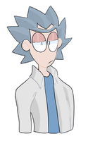 Rick Sanchez by Bits-of-Bots