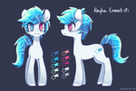 Haylee Comet by space-kid