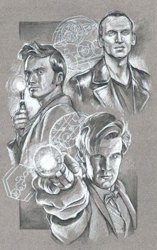 WIP Doctor Who 9_10_11 by scotty309