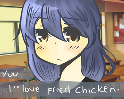 i love fried chicken please marry me by akisegu12