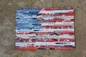 USA Photostrip Mosaic by piratesofbrooklyn