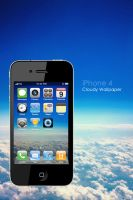 iPhone 4 Cloudy Wallpaper by Martz90