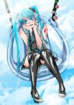 Miku in the Sky by RoIchigo