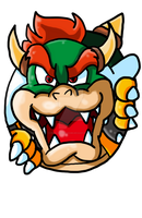 Bowser Icon by Pizza-and-Fandoms