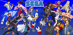 SEGA Tribute Background by MagGamTales