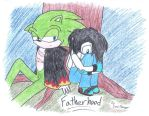Fatherhood - Scourge Story -cover by SonicRanger-1