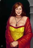 Com7 Lady of a Noble House by BAproductions