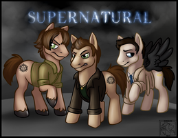 MLP: Supernatural by Sciggles