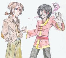 Jim and... Zuko? by iesnoth