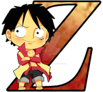 OP: Luffy Film Z by Mary-McGregor