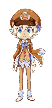 Gingerbread (adoptable style test) by Faize
