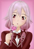 Valentine's Day lollipop by Orionca