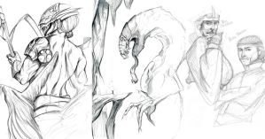 1.21.11 Sketches by lunaticenigma