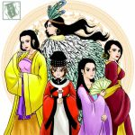 Vietnamese famous empresses and princesses by LyDuong