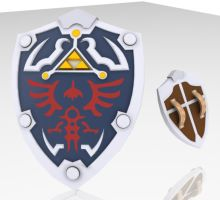 Hylian Shield by HunterDog