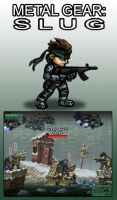 Metal Gear Slug by AIBryce