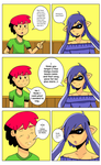 Splatoon zone tan and me comic (Colored) by donicx1