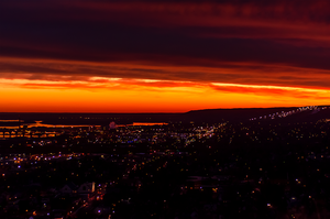 Sunset over Duluth/Superior by RobertKohler