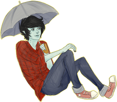 Marshall Lee by Kassidilla