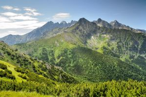 A Slice of the High Tatras by Tullusion