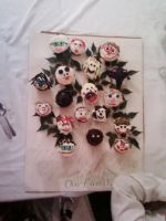 Family Tree Cupcakes by Band-Geek24