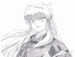 InuYasha Sketch by Parastorm