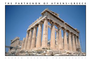The Parthenon (Athens, Greece) by drewhoshkiw