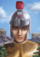Roman soldier (2013) by LuzTapia