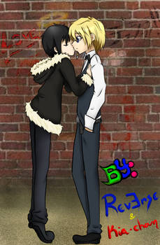 Love is in the alley. by kia-chan-15