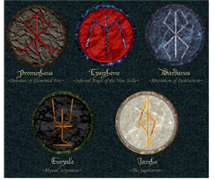 Summoning Runes by PortBaron