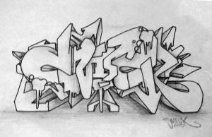 SmecK Graffiti Sketch 6 by SmecKiN