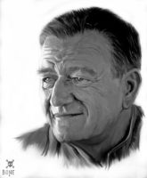 MR. JOHN WAYNE by NeDrawMas