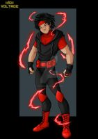 red lightning  -  commission by nightwing1975